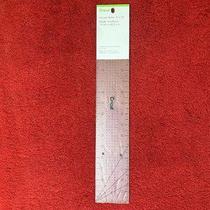 "NEW SEALED CRICUT 3""X18"" ACRYLIC RULER!"